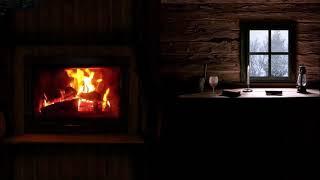Камин в реальном времени - Звуки огня - Расслабляющее видео с горящим огнем - 5 часjd