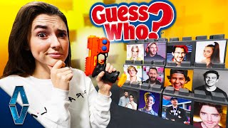 NERF YouTuber Guess Who Challenge!