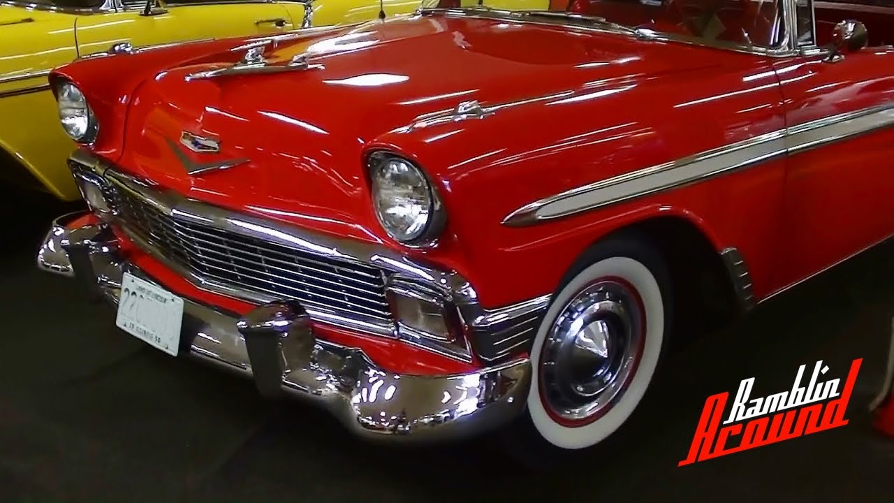 1956 chevy bel air dynomite classic muscle car for sale in - 1956 Chevrolet Bel Air 265 V8 Only 5 Xxx Miles Since Restoration Nice Classic Chevy Youtube