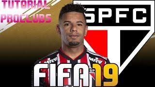 FIFA 19 - TUTORIAL FACE I Bruno Peres (São Paulo FC) [Pro Clubs]