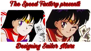 The Speed Factory presents: Designing the Sailor Mars GTR (The Crew 2)