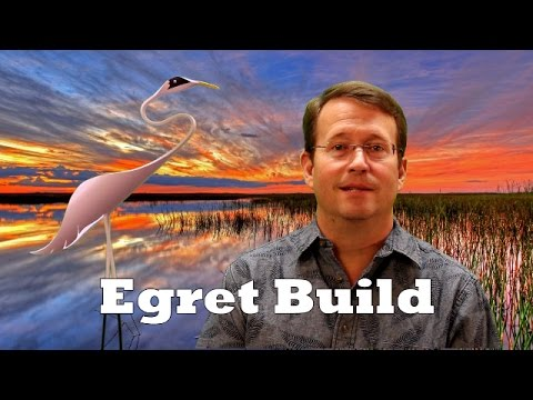 """Egret Build with 4"""" PVC Pipe"""