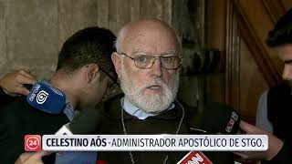 """Monseñor Aós sobre Errázuriz: """"Difícilmente puedo hablar de un tema judicial que no conozco"""""""