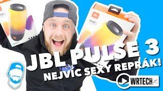 🔥NEJVÍC SEXY REPRÁK NA SVĚTĚ? JBL Pulse 3, Bluetooth reproduktor s LED technologií!