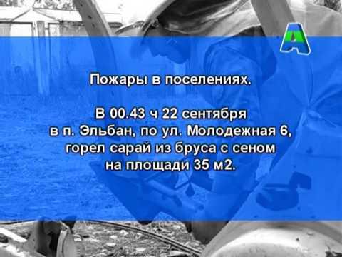 Телеканал Амурск - Сводка службы 112 с 21 по 27 сентября.