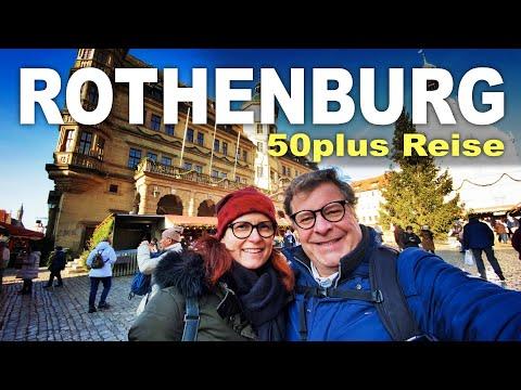 ROTHENBURG OB DER TAUBER | 50plus Reisen | Städtereise | Urlaub in Deutschland | 50+
