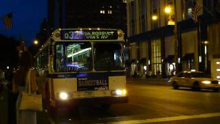 MTA New York City Bus 1999 Orion V 6042 On The Q32 @ 5th Avenue & 57th Street