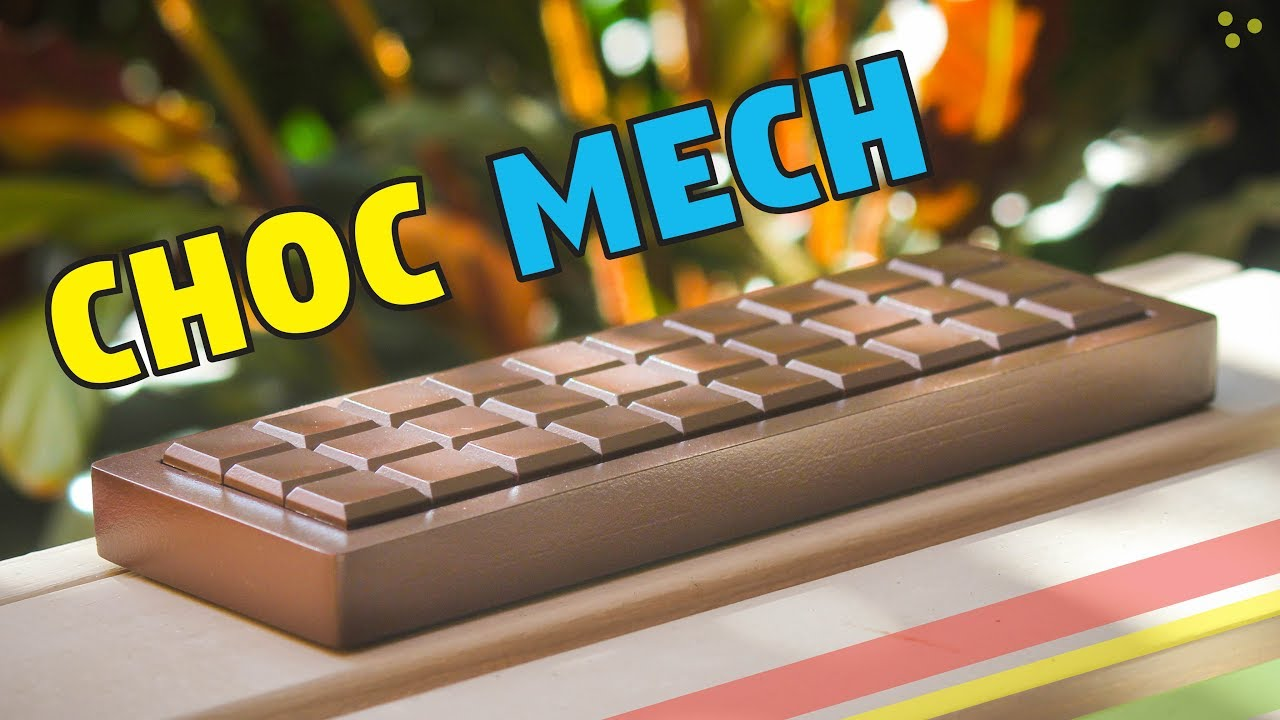 DILLY Choc/olate Mechanical Keyboard Build