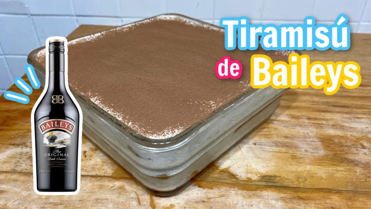 TIRAMISÚ DE BAILEYS PARA LAS FIESTAS