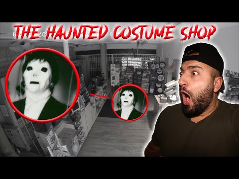 THE HAUNTED COSTUME SHOP WHERE GHOST CHILDREN ARE SCARING OFF THE EMPLOYEES (WE INVESTIGATED)