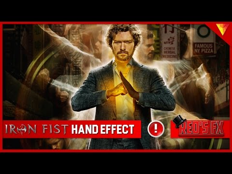 Iron Fist Hand Effect Hitfilm Express Tutorial | Red's Fx