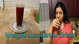 How to Make Weight Loss Detox Drink