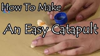 Learn How To Make An Easy Catapult - Kids Science Experiments