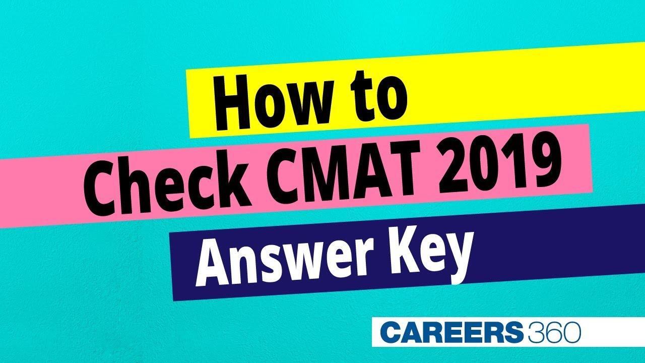 CMAT Answer Key 2020 - Download Response Sheet, Question Paper