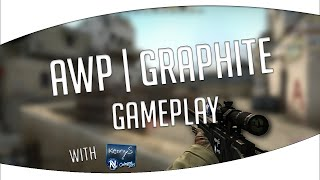 awp   graphite with kennys foil sticker gameplay