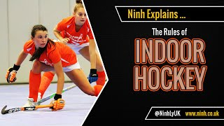 The Rules of Indoor Hockey (FIH 2020) - EXPLAINED!