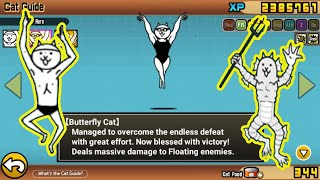 The Battle Cats  Swimmer Cat (Super Rare Cat)