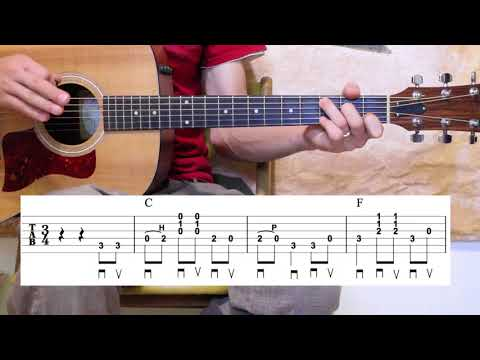 Peace in The Valley - Guitar Lesson - 2 Arrangements