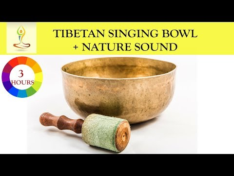 """3 Hours Singing Bowl Healing Vibration """"Clear All The Negative & Bad Energy"""" from Your Home & Body"""