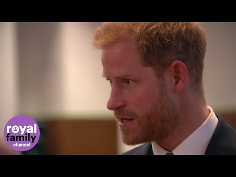 Duke of Sussex talks passionately about mental health with academics and researchers