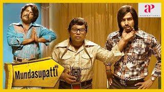 Mundasupatti Movie Ramdoss Comedy | Vishnu Vishal replaces the photo with Ramdoss | Kaali Venkat