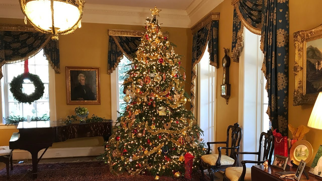 Christmas At The Sc Governor S Mansion Youtube