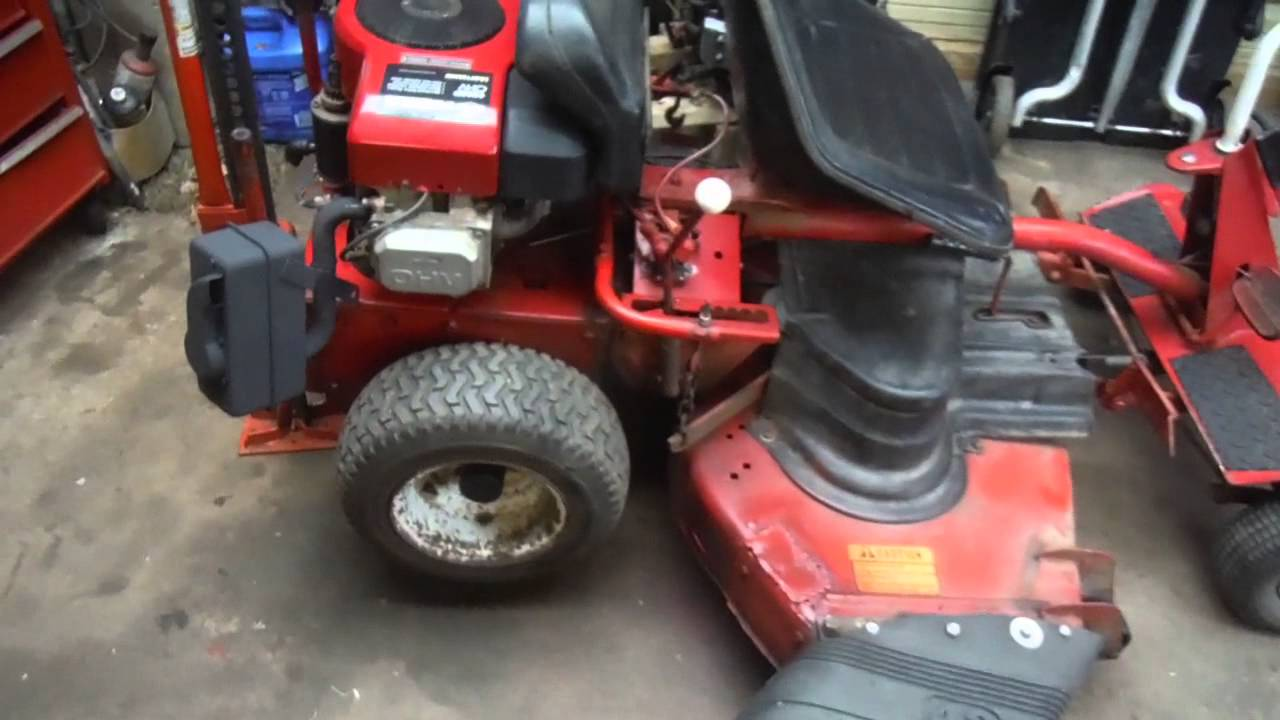 Snapper Pull Start Repair Riding Mower Youtube