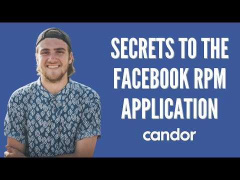 Secrets to the Facebook RPM Application