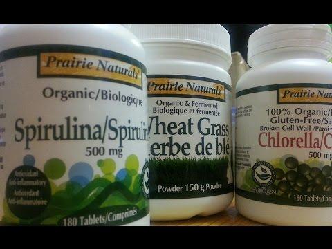 Spirulina vs. Wheatgrass vs. Barley Grass