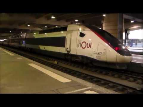 Rail Report TGV INOUI Paris Montparnasse 1 2 Rennes rame 3UFC Oceane 862