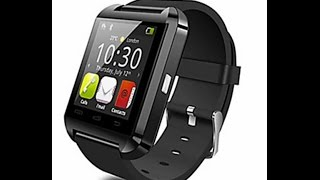 u9 wearables smart watch bluetooth4 0 hands free calls camera control activity tracker
