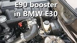 BMW e30 m52 turbon talvihuoltoa. S03E05 Auto ajoon