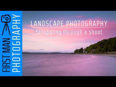 Landscape Photography - Struggling through...