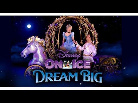 Disney On Ice 2018 Dream Big Part 1-Aladdin,Little Mermaid,Cinderella,Beauty and The Beast