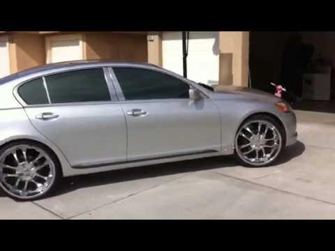 """2006 Lexus Gs >> 2006 LEXUS GS 300 ON 22"""" - YouTube"""