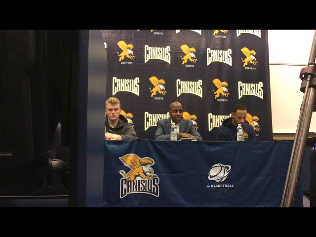Canisius Men's Basketball Press Conference (Reggie Witherspoon, Takal Molson and Scott Hitchon)