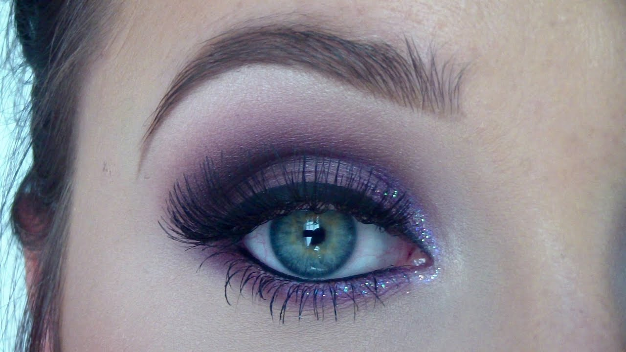 purple eyeshadow makeup tutorial - from day to night | jaclyn hill