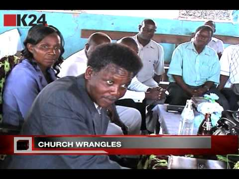 Church wrangles around the country