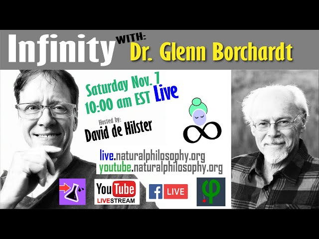 Infinity with Science Philosopher Dr. Glenn Borchardt