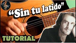 Como tocar SIN TU LATIDO en guitarra | Tutorial acordes