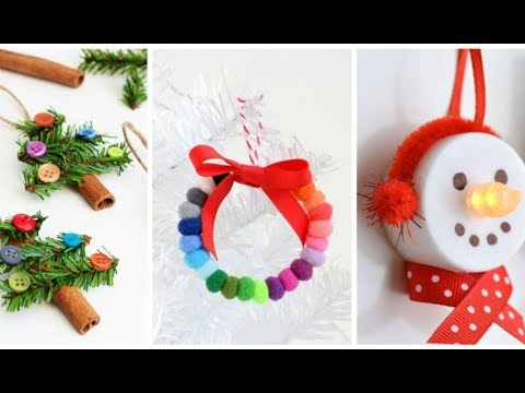 8 Christmas Winter Diy Projects Simple Crafts And Ideas Youtube