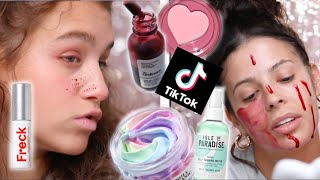TOP 10 VIRAL BEAUTY  PRODUCTS TIKTOK MADE US BUY