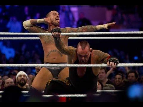 Resultado de imagen para cm punk vs undertaker wrestlemania 29