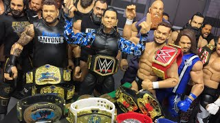 WHAT IF WWE RESTARTED!? I TAKEOVER WWE! WWE FIGURES!