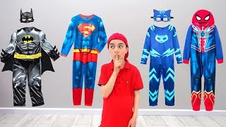 Kids Play Rescue Mission Superhero