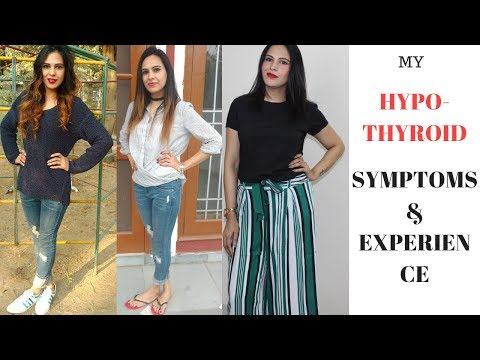 Hypothyroid Symptoms In Hindi || My Thyroid Experience, Weight Gain || Thyroid के लक्षण