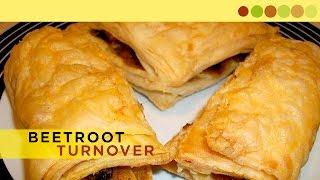 Beetroot Turnover | Veg Puff Recipe | Chef Atul Kochhar