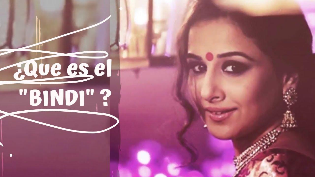 ¿Porqué las Mujeres indias usan el punto en el centro de las cejas? / Bindi //chakras // información