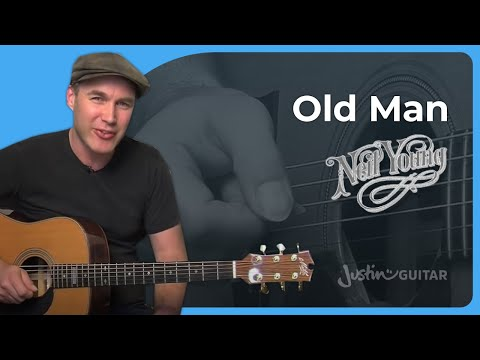 Old Man - Neil Young - Acoustic Guitar Lesson (ST-905) How to play
