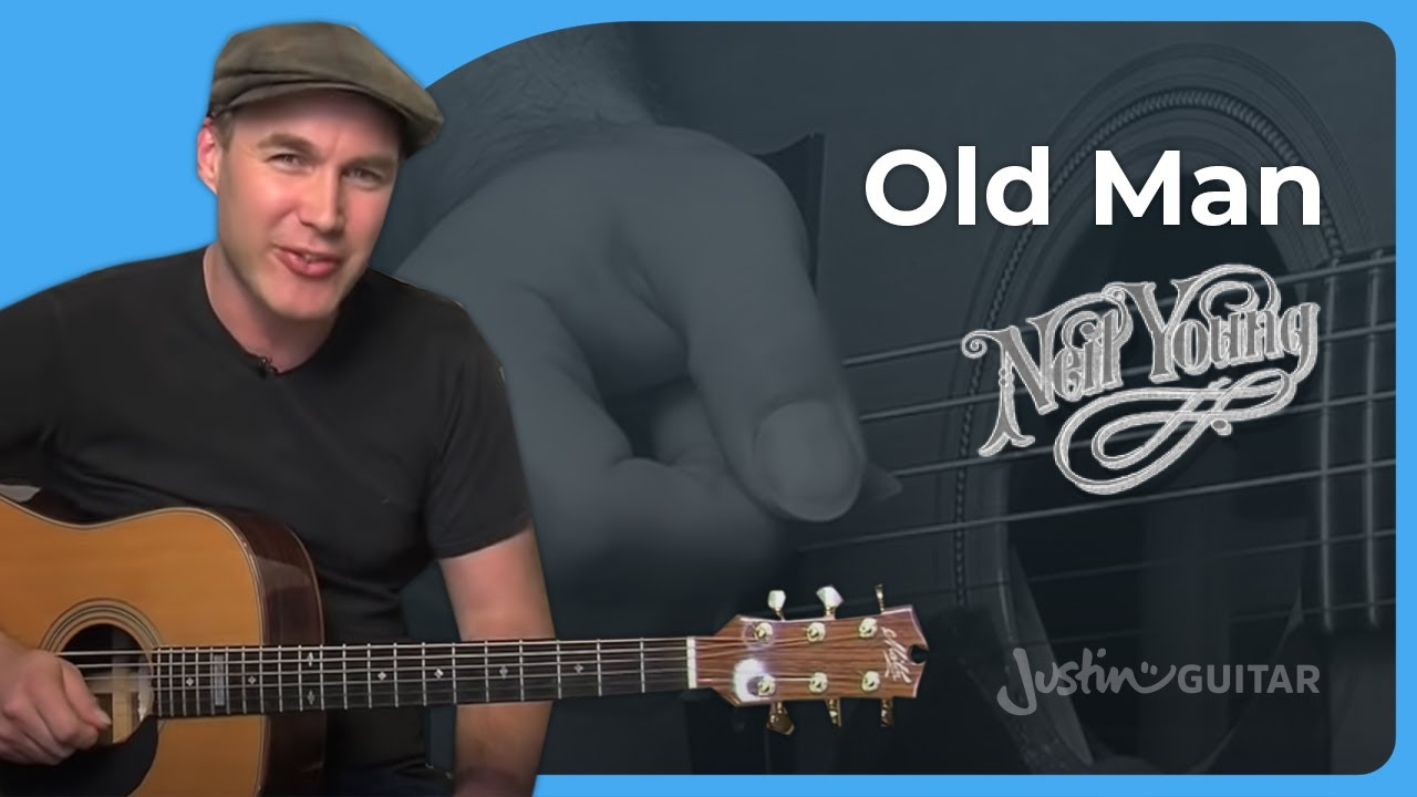 Old Man Neil Young Acoustic Guitar Lesson St 905 How To Play